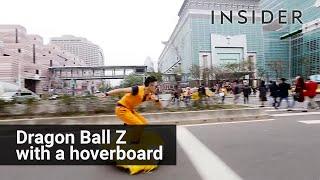 Dragon Ball nimbus cloud hoverboard
