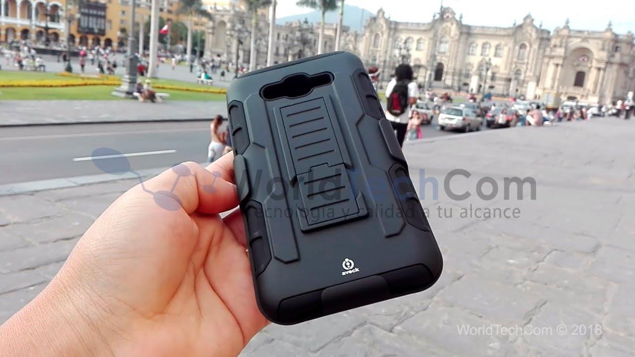 ec7e684bacb Case Samsung Galaxy J7 2015 Carcasa Funda Gancho Protector - S/ 35,00 en  Mercado Libre