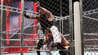 Chris Jericho vs. Bray Wyatt – Steel Cage Match: Raw, Sept. 8, 2014