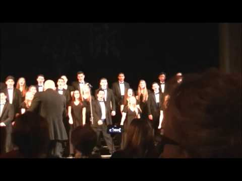 Baba Yetu - Hauppauge High School Chamber Choir - Soloists Craig Bottner and Mackenzie L. 2015