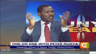 Citizen Extra:  One on One with Peter Munya