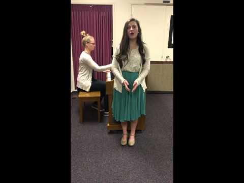 Music Therapy Audition for Belmont University-Christina Noskowski