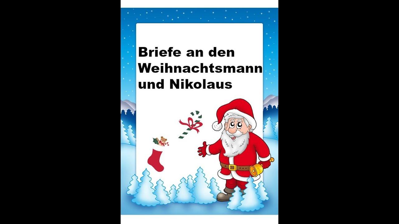Brief Für Nikolaus : Briefe an weihnachtsmann und nikolaus youtube
