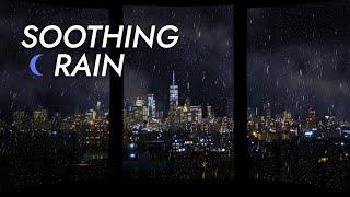 Rain on Window Sounds for Sleeping  Fall Asleep Fast   Deep Sleep and ASMR Rain  Stress Relief