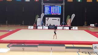 Paula Suarez Campeonato España 2017 Valladolid Suelo