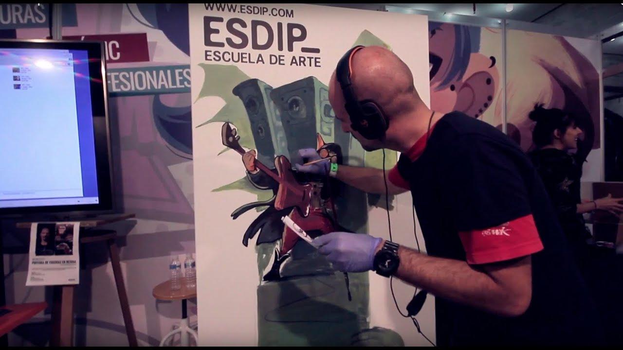 Resultado de imagen de La Escuela de Arte ESDIP