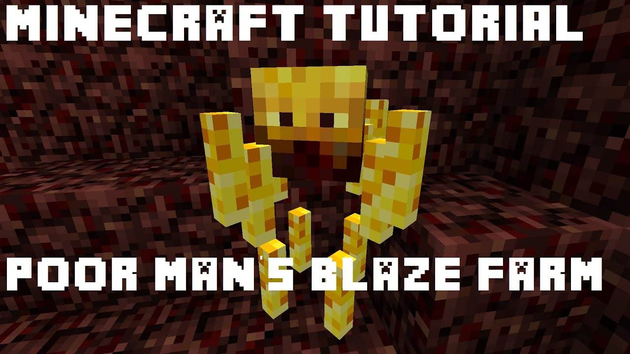 Minecraft Tutorial :: Sticky Piston-less Blaze XP Farm