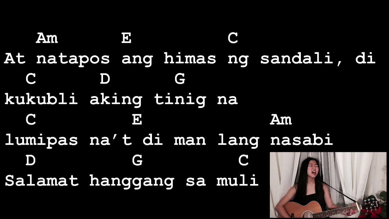 Ang dating ikaw lyrics and chords