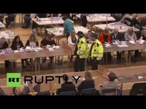 UK: Havering, East London, announces Leave vote in EU referendum