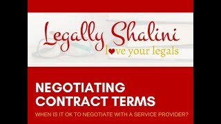 Negotiating Contract Terms As A Freelancer : 4 Key Things To Consider