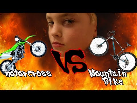 MOTOCROSS VS. MOUNTAIN BIKES