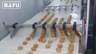 торт производственная линия, упаковка торт, упаковка хлеба, автоматическая линия упаковки