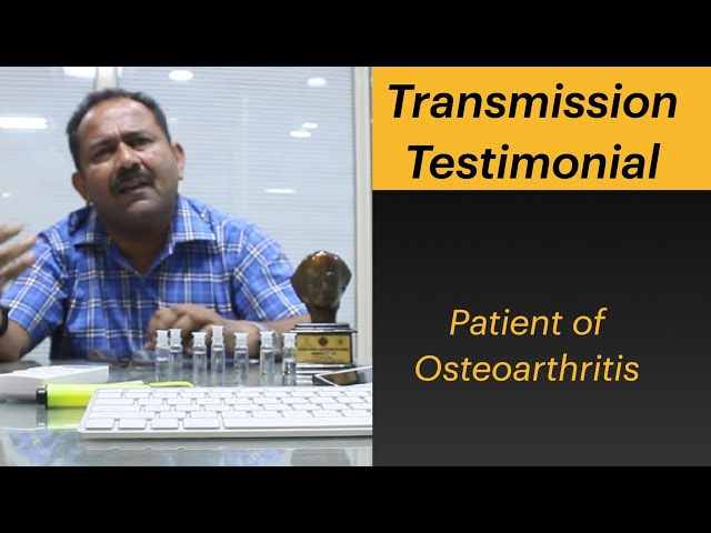 Patient of Osteoarthritis Instant Relief