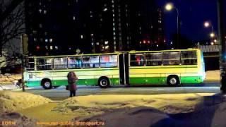 Moscow Buses, 14.02.2011(Camera used: Canon PowerShot SX130 IS. Автобусы Москвы, видео снято в САО, на улице 800-летия Москвы. И также снята поездка по..., 2011-02-15T20:06:34.000Z)