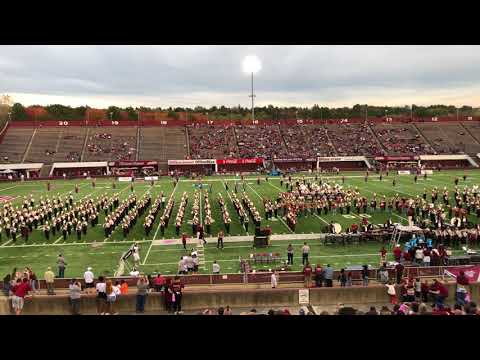 1812 Overture - UMass Amherst Minuteman Marching Band - Halftime - October 21, 2017