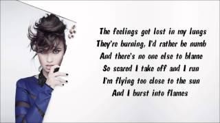 Demi lovato - heart attack instrumental / karaoke with lyrics on screen