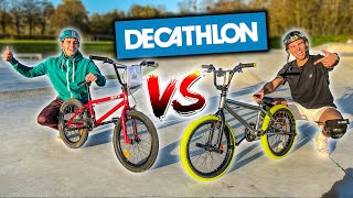 BMX DECATHLON ! Le plus cher VS le moins cher ! Ft @scoot 2 street