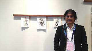 แสดงงานศิลปะ Solo exhibition ที่ สิงคโปร์  ในชื่อนิทรรศการ Sound of silence in Thailand 2019