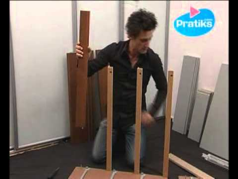 Comment assembler la commode 3 tiroirs malm d 39 ikea 1 6 youtube - Commode 3 tiroirs ikea ...