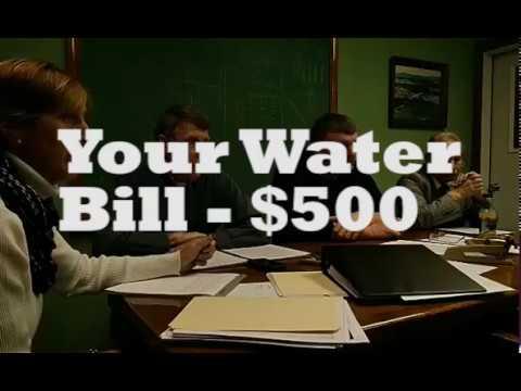 Water Bill   Newport Center VT $500 per Quarter