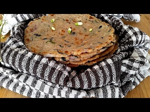 Akki Roti - Rice Roti - Brown Rice Bread - Brown Rice Roti - Gluten Free Bread - Chawal Ki Roti -