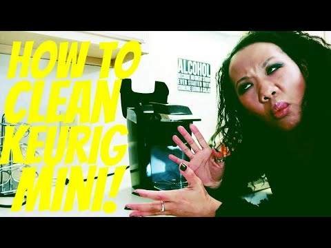 How To Clean a FILTHY Keurig Mini!