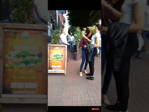 【喧嘩動画】店の用心棒にクソ雑魚イキりチンピラさん、返り討ちに遭う