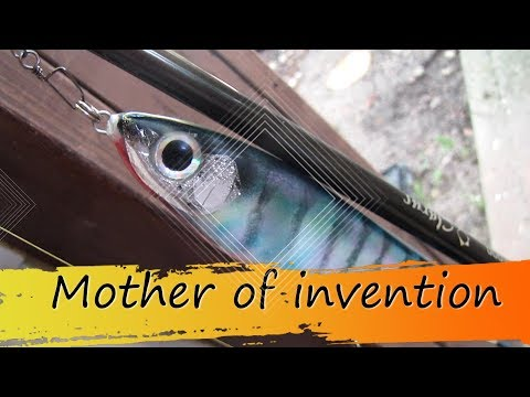 Painting A Fishing Lure With A Sponge