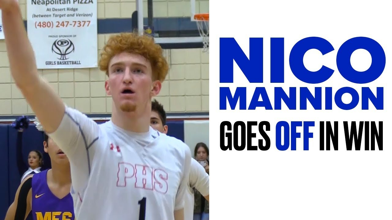 Five-Star Arizona Commit Nico Mannion DROPS 34 Points