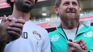 Mohamed Salah And Chechen Leader Ramzan Kadyrov