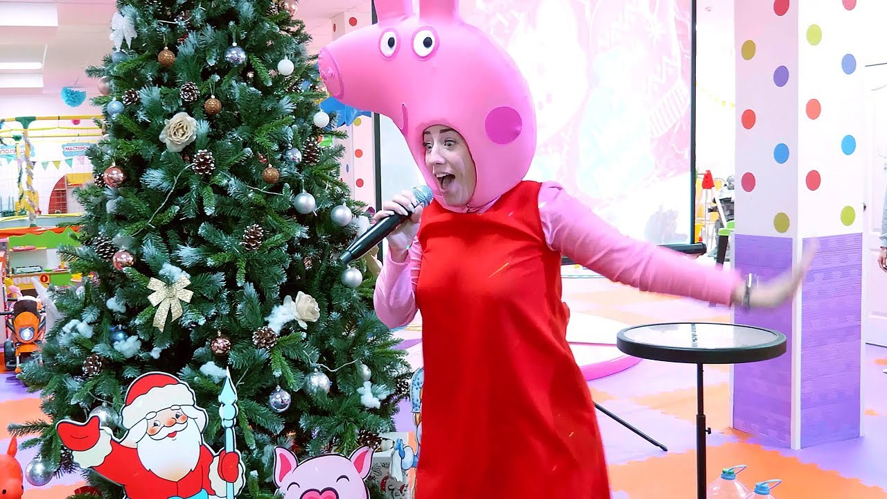Свинка Пеппа и Джордж отмечают новый год - Детские видео ...