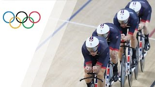 More gold for Wiggins as GB cyclists win men