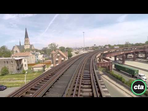 CTA Ride the Rails: Green Line - Ashland/63rd to Garfield in Real Time