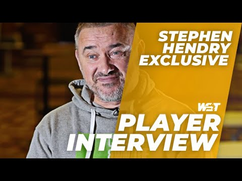 Stephen HENDRY Reacts To Drawing Jimmy WHITE In Crucible Qualifying