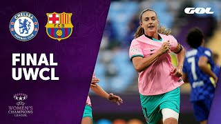 CHELSEA 0-4 FC BARCELONA - FINAL UEFA WOMEN'S CHAMPIONS LEAGUE