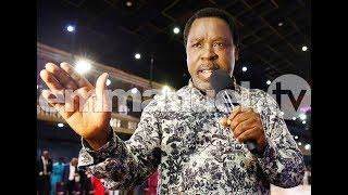 SCOAN 26/08/18: Powerful Mass Prayer, Prophecy & Deliverance with TB Joshua   Live Sunday Service