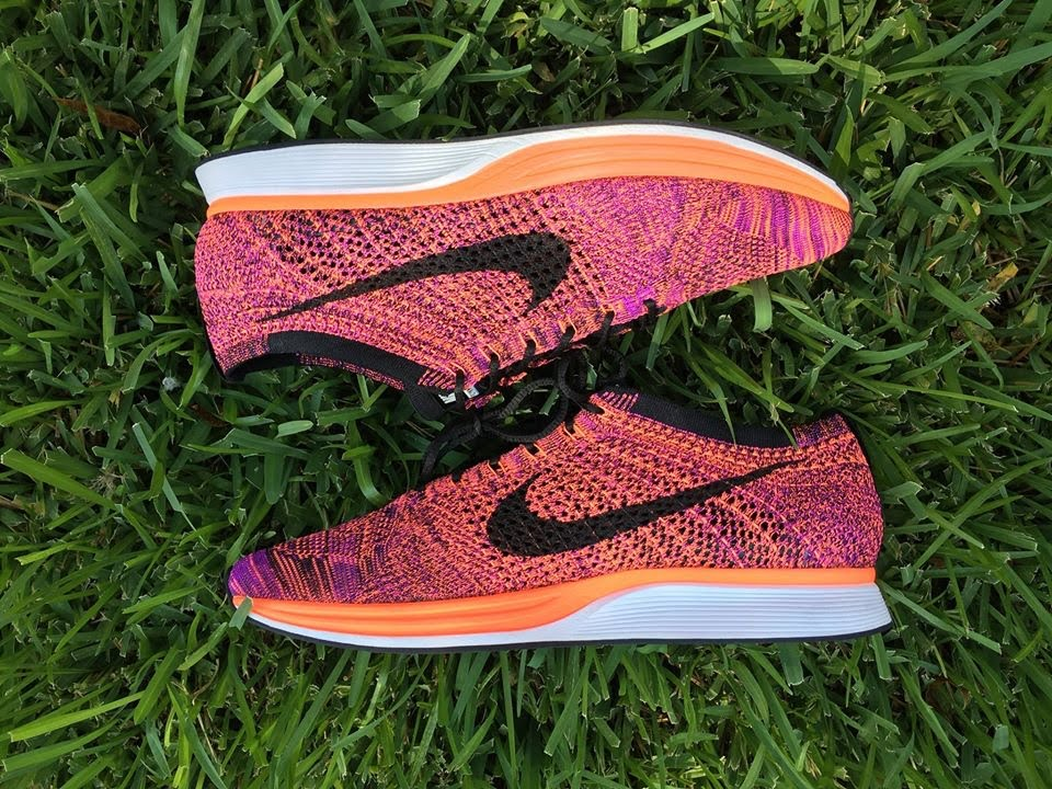 bf51db92d6654 Nike Flyknit Racer Acai Berry + On Foot! - YouTube