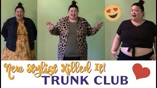 Trunk Club for Larger Plus Sizes // New stylist, Awesome Trunk!