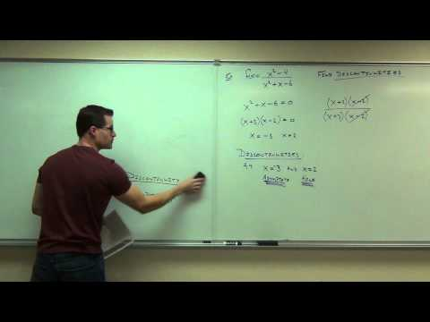 Calculus 1 Lecture 1.4:  Continuity of Functions