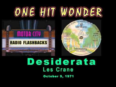Les Crane - Desiderata - 1971