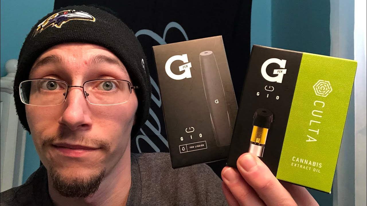 G Pen Gio review, And Culta Baltimore Lemon Diesel Gio pod