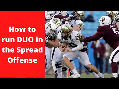 How To Run The DUO Scheme In The Spread Offense