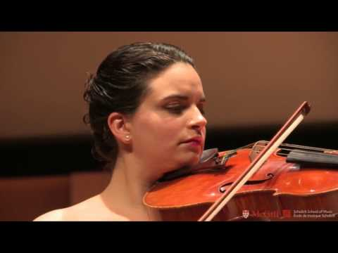 Marina Thibeault plays Schnittke Viola Concerto with MGSO under Alexis Hauser
