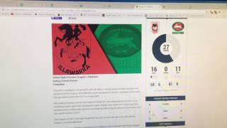 Dragons Vs Rabbitohs Preview + a few other tips