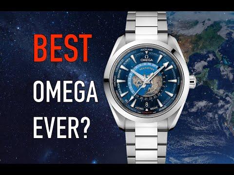 The BEST WATCH Under $10,000 - Omega Aqua Terra World Timer