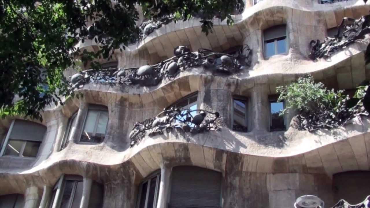 barcelone les maisons de gaudi
