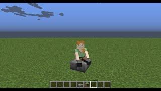 Обзор мода сидеть и лежать в Minecraft PE