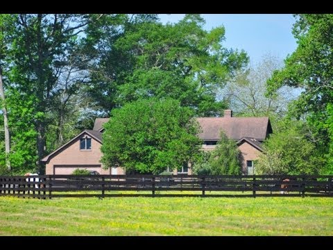 NC Waterfront Equestrian Property For Sale -- 138 Knowles Landing Drive