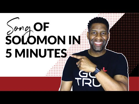 The Book of Song of Solomon Explained in Under 5 Minutes  BOOK REVIEW