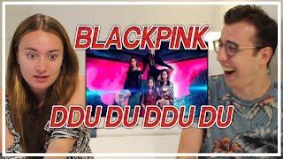 NON KPOP FAN REACTS TO BLACKPINK - DDU DU DDU DU